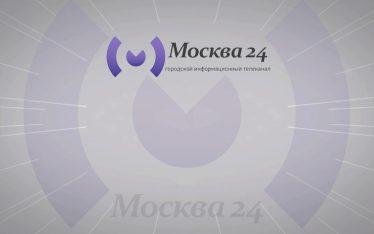 Москва24 логотип